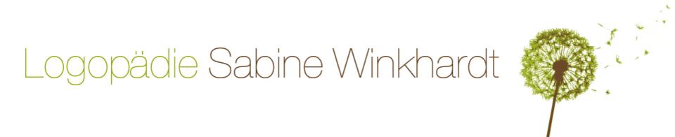 Titelbild Logopädie Sabine Winkhardt